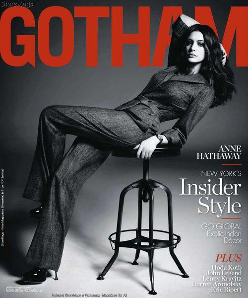 Энн Хэтэуэй в журнале Gotham