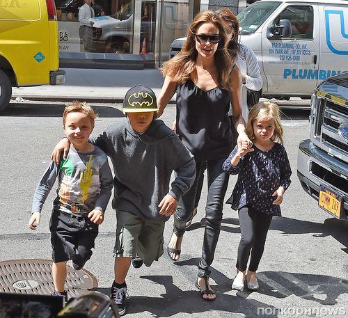 Анджелина Джоли и ее дети провели три ночи в австралийском зоопарке