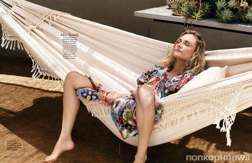 Диана Крюгер в журнале Elle Италия. Январь 2015