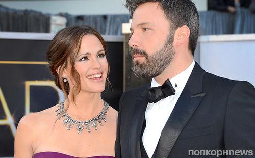 Бен Аффлек и Дженнифер Гарнер до сих пор не подали документы на развод