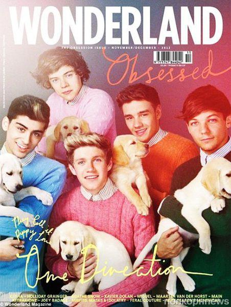 One Direction в журнале Wonderland. Ноябрь / декабрь 2012
