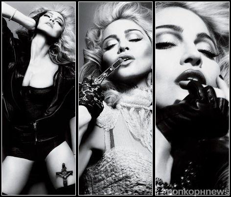 Первый взгляд на рекламную кампанию аромата Truth or Dare от Мадонны