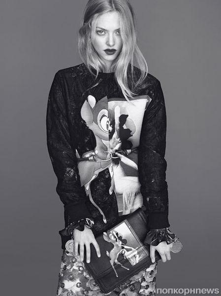 Первый взгляд на Аманду Сейфрид в рекламной кампании Givenchy. Осень 2013
