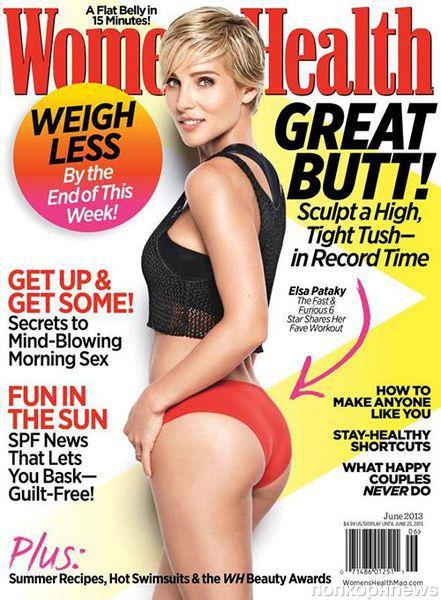Эльза Патаки в журнале Women's Health. Июнь 2013