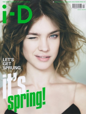 Наталья Водянова в журнале i-D. Весна 2010