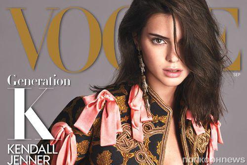 Кендалл Дженнер снялась для обложки сентябрьского Vogue