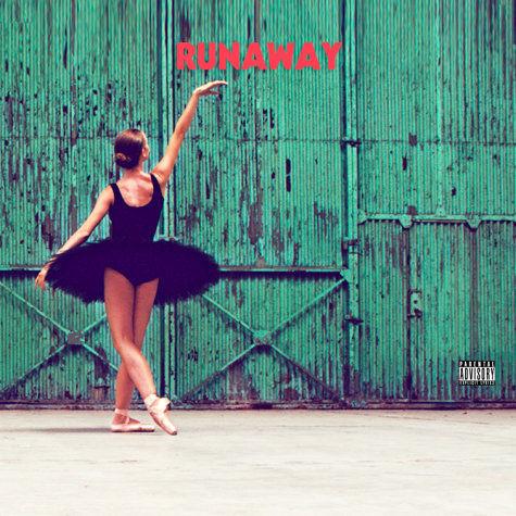 Обложка нового сингла Кани Веста Runaway