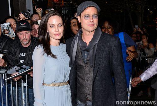 Фото: Анджелина Джоли и Брэд Питт на показе «Лазурного берега» в Нью-Йорке