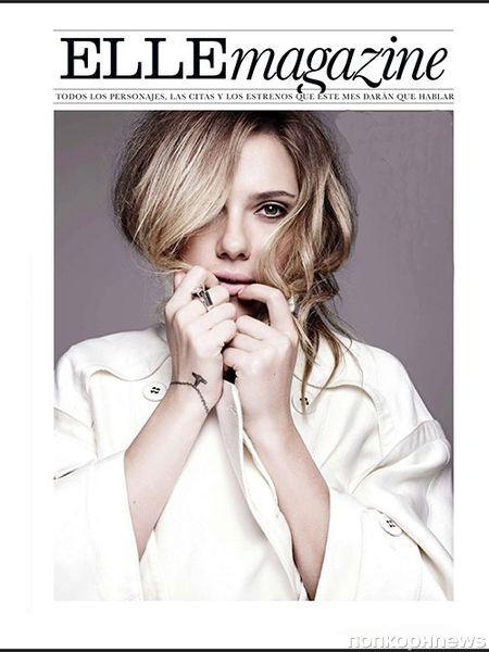 Скарлетт Йоханссон в журнале Elle Испания. Май 2013
