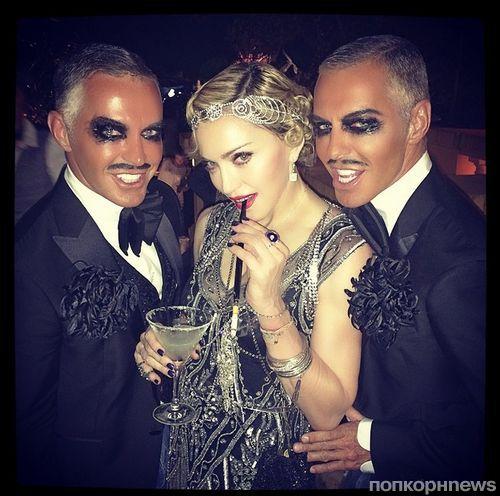 Мадонна отпраздновала день рождения в стиле 20-х