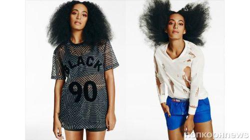 Соланж Ноулз в рекламной кампании Eleven Paris . Весна / лето 2015