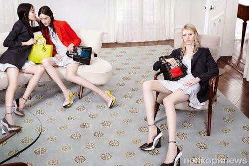 Рекламная кампания аксессуаров Dior. Осень 2014