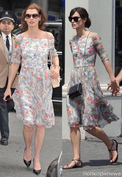 Fashion battle: Линда Евангелиста и Кира Найтли