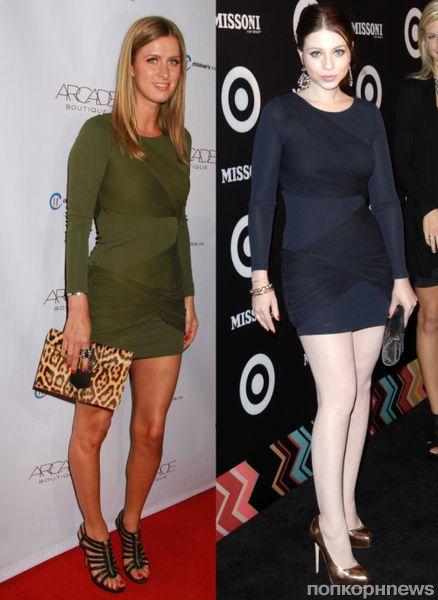 Fashion battle: Ники Хилтон и Мишель Трахтенберг