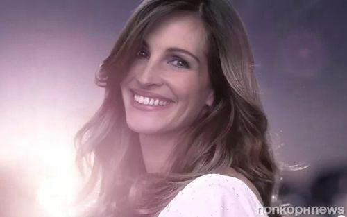 Джулия Робертс в рекламном ролике Lancome