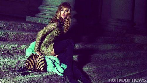 Даутцен Крез в рекламной кампании Emilio Pucci. Осень / зима 2013