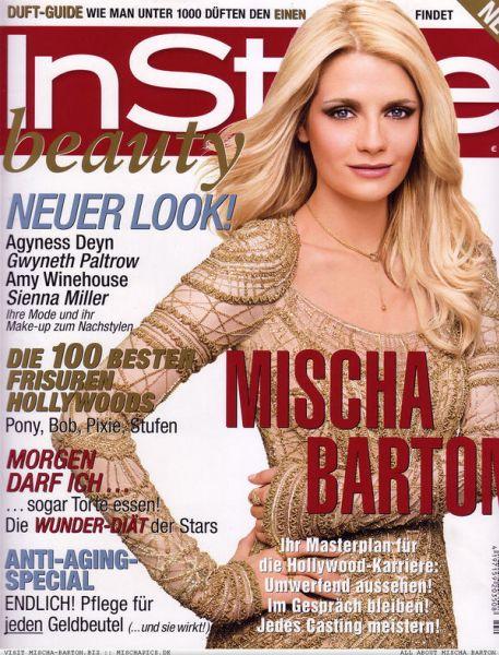Миша Бартон в немецком журнале InStyle. Декабрь 2008