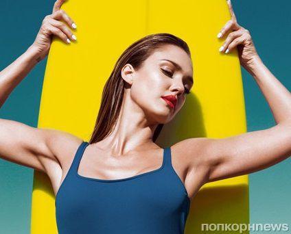 Джессика Альба в журнале GQ Великобритания. Август 2014