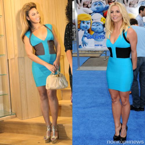 Fashion battle: Бейонсе и Бритни Спирс
