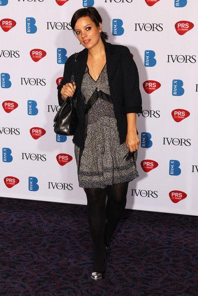 Лили Аллен на премии Ivor Novello Awards 2011