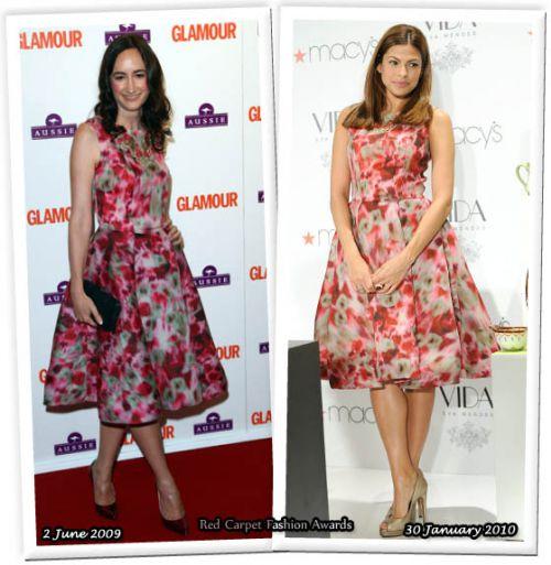 Fashion battle: Софи Кинселла и Ева Мендес