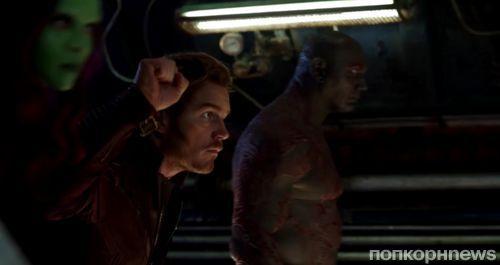 Видео фрагменты из «Мстителей: Война бесконечности» попали в сеть