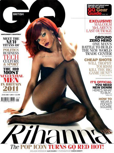 Рианна в журнале GQ. Январь 2011. полная версия