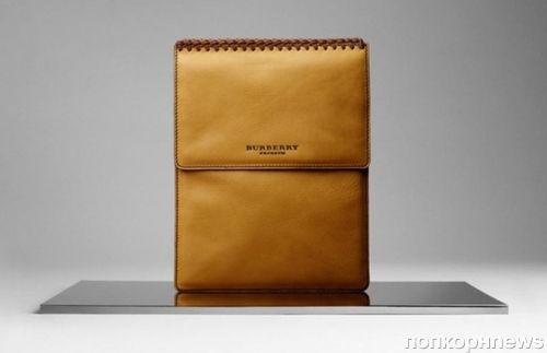 Burberry создает чехол для iPad