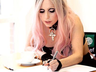 """Lady GaGa стала главным редактором газеты """"Metro"""""""