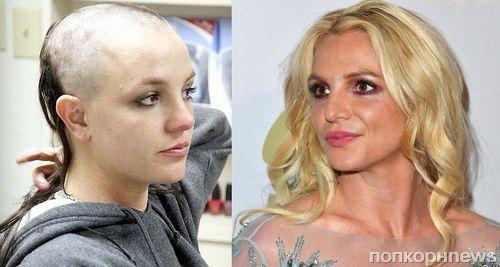 Бритни Спирс отметила десятилетие своего решение побриться налысо