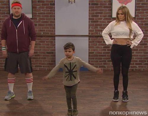 Видео: Дженнифер Лопес взяла уроки танцев у малышей