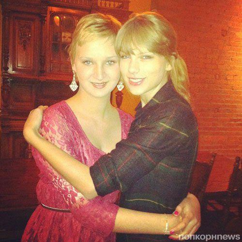 Тейлор Свифт встретилась с больной раком поклонницей