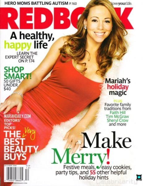 Мэрайя Кери в журнале Redbook. Декабрь 2008