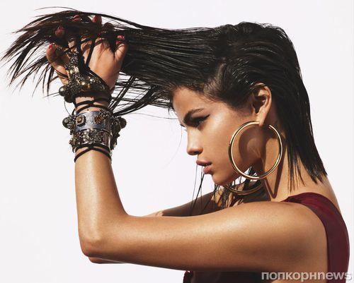 Селена Гомес снялась в фотосессии для апрельского Vogue US