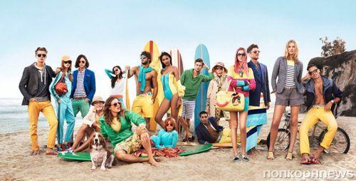 Рекламная кампания Tommy Hilfiger. Весна / Лето 2014
