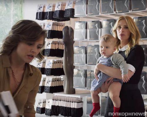 Джулия Робертс снялась в новой рекламной кампании  Calzedonia