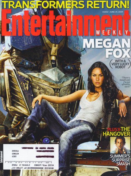 Меган Фокс в журнале Entertainment Weekly. Июнь 2009