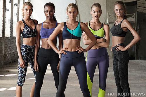Новые «ангелы» Victoria's Secret  в рекламе спортивной коллекции