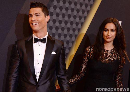 Криштиану Роналду: «Я желаю Ирине огромного счастья»