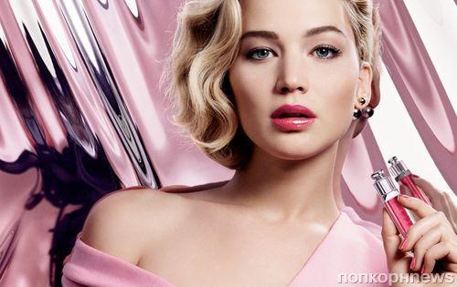 Дженнифер Лоуренс снялась в рекламе блеска для губ Dior