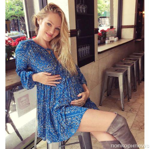 Кэндис Свейнпол сообщила пол будущего ребенка