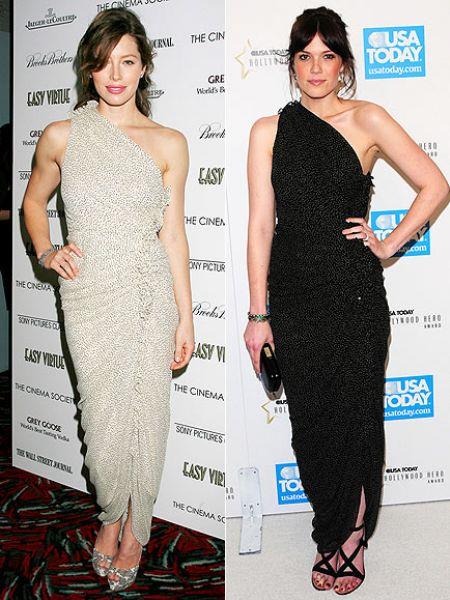 Fashion battle: Джессика Бил и Мэнди Мур