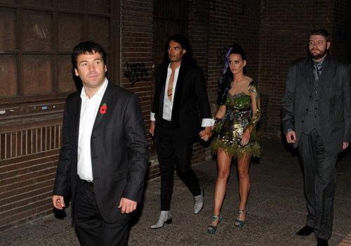 Двойное свидание Кэти Перри и Рианны после MTV EMA