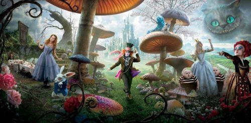 Финальные постеры фильма Тима Бертона «Алиса в стране чудес»