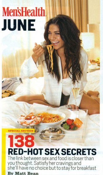 Джессика Зор в журнале Men's Health. Июнь 2009