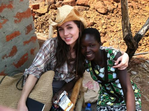 Элиза Душку в Уганде