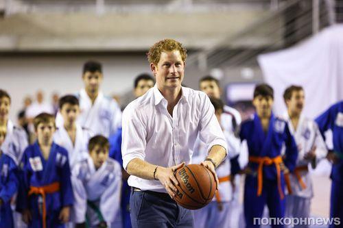 Принц Гарри готовится к Олимпиаде в Бразилии