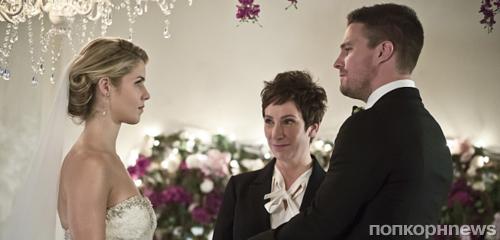 Стивен Амелл рассказал, будут ли Оливер и Фелисити вместе в 5 сезоне «Стрелы»