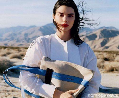 Кендалл Дженнер в фотосессии для майского Glamour France