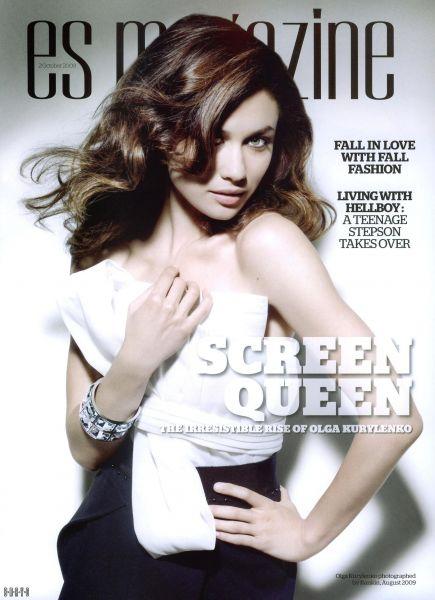 Ольга Куриленко в журнале ES. Октябрь 2009
